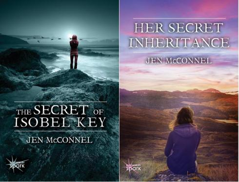 ISOBEL KEY series covers