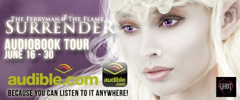 Surrender Audio Book Tour